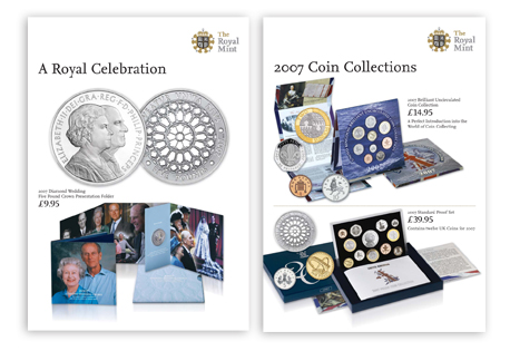 Royal mint posters